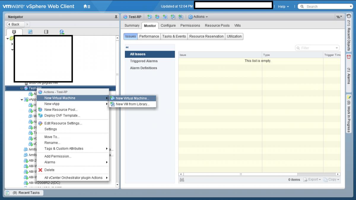 4 Resource Pool در VMWare vSphere ESXI