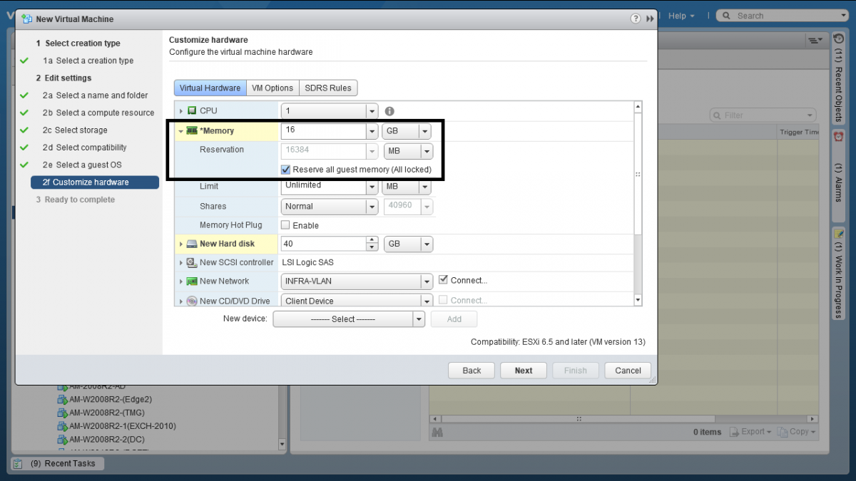 5 Resource Pool در VMWare vSphere ESXI