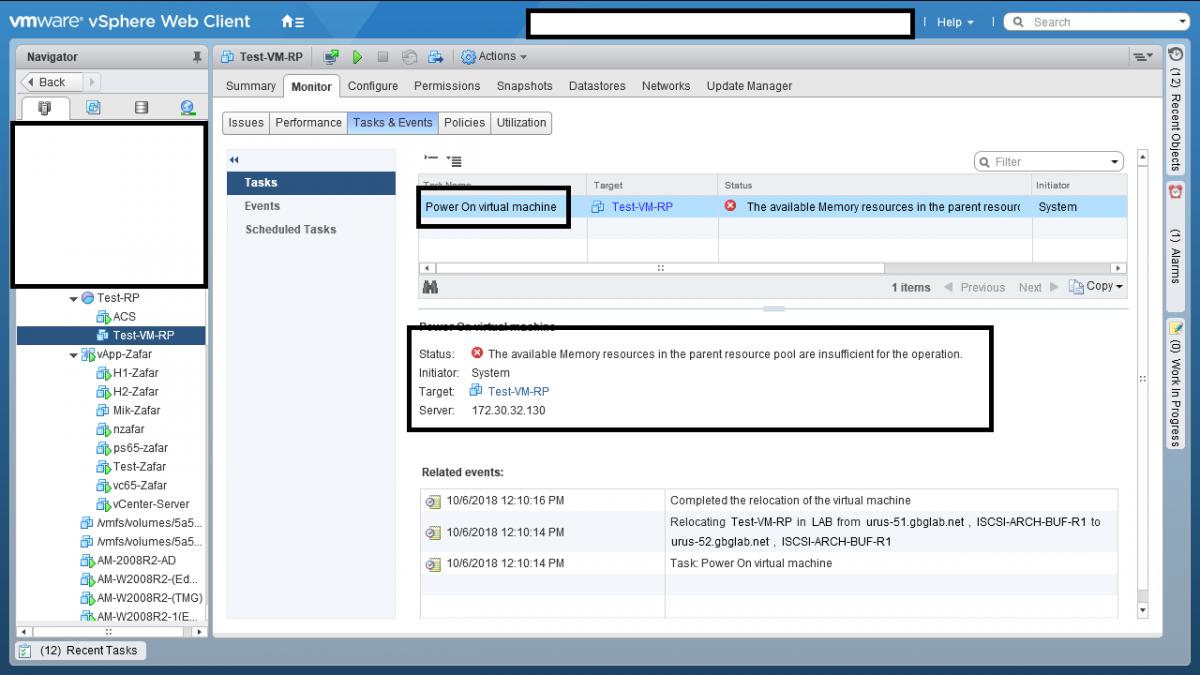 6 Resource Pool در VMWare vSphere ESXI