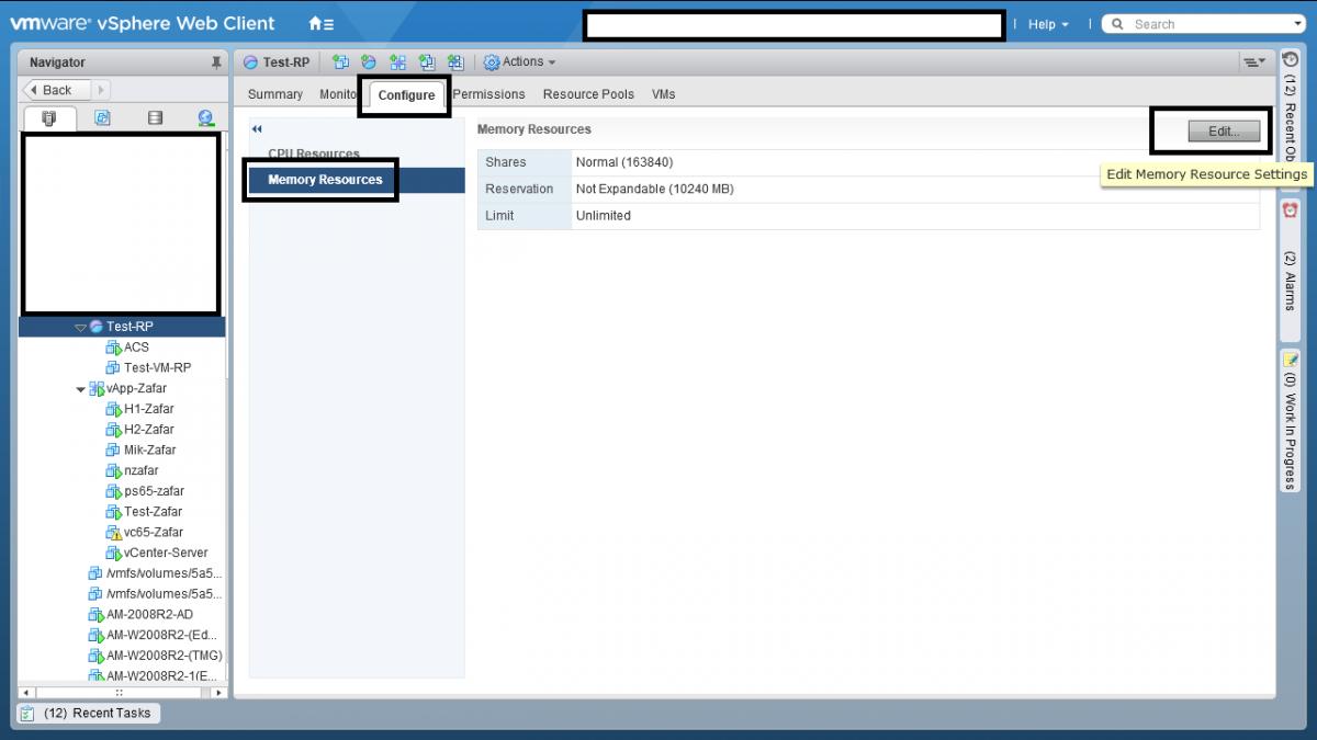 7 Resource Pool در VMWare vSphere ESXI